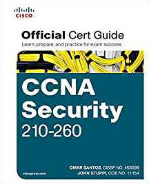 Cover of the Cisco CCNA Security official cert guide