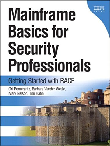 Cover of 'Mainframe Basics for Security Professionals: Getting Started with RACF'