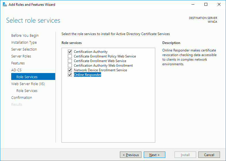 How To Configure Windows As A Scep Server Cisco Asa Enrollment