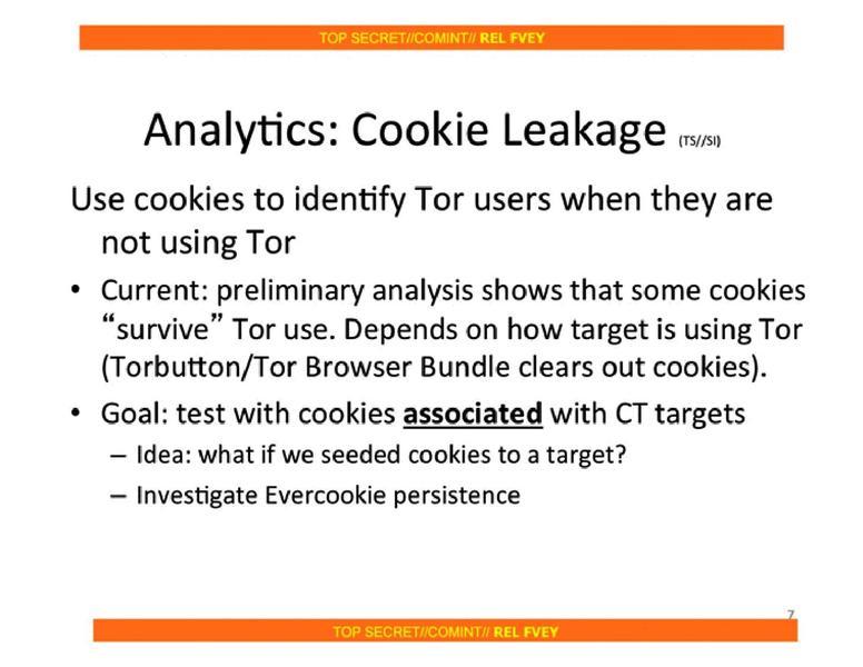 'Tor Stinks' NSA presentation